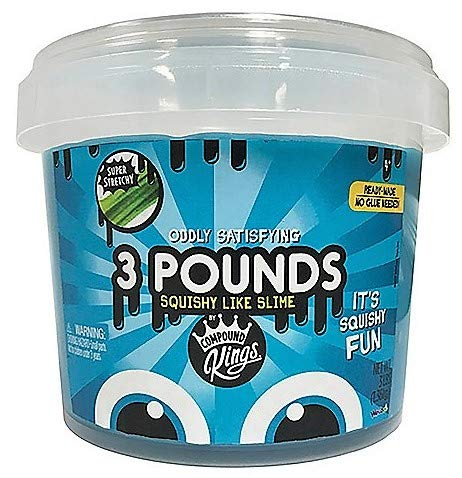 Compound kings 3Lb Bucket of Slime - Blue (Blue)