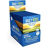 Daily Vites Multivitamin for Men and Women | Mineral Powder Supplement, Vitamin B, C and D, Biotin, Zinc, Iron | Drink Mix 30 Packets | Dr. Price's Vitamins | No Sugar Vegetarian Non-GMO Gluten-Free