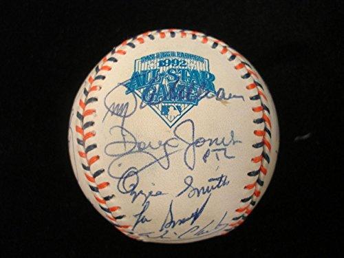 1992 All-Stars National League Baseball Team Autographed Baseball - 24 Signat. - Autographed Baseballs ()
