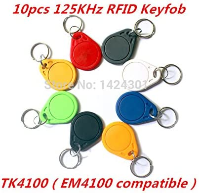 SUNNY-MERCADO (10pcs) TK4100 (EM4100 compatibles) RFID 125KHz ...