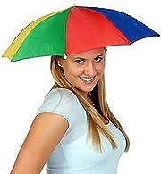 Diventa il re della spiaggia con questo ombrello da sole che si indossa come un cappello, lasciando le mani libere per fare quello che più ti piace!