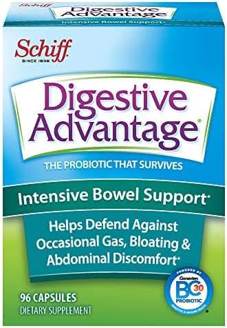 Digestive Advantage Intensive Bowel Support, 96 Capsules