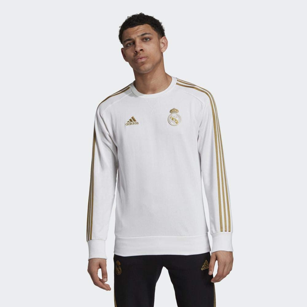 White adidas 2019-2020 Real Madrid Sweat Top