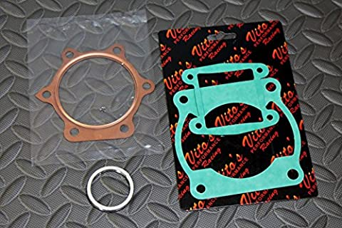 VITOs Yamaha Blaster TOP END GASKET KIT +1.2HP 1988-2006 high compression VT200 - Top Fuel Exhaust