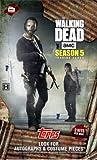 2016 Topps Walking Dead hobby trading cards season 5 Factory sealed Hobby Box