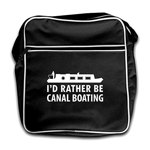 Red Canal Black Retro Flight Boating I'd Bag Be Rather 6nxRa0