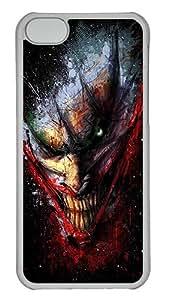 Apple iPhone 5C Case & Cover - Horror Teeth PC Plastics Case Back Cover for iPhone 5C Transparent