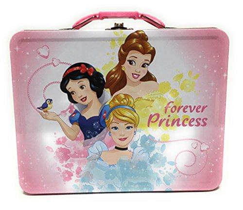 The Princess And The Tin Box - The Tin Box Company Disney Princess Carry All Tin- Assorted