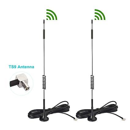 2x White 4G LTE TS9 Antenna for Netgear AirCard AC815s 771S 778S 779S 781S 810S