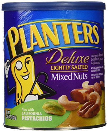Planters Deluxe Lightly Salted Ounces product image