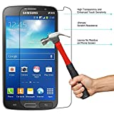Red Qube Hammer Proof Fiber Tempered Screen Protector with Oleophobic Coating for Samsung Galaxy Grand 2 SM-G7102