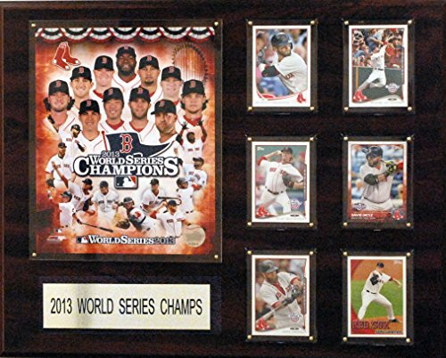 C&I Collectables MLB Boston Red Sox 2013 World Series Champions Plaque, 16