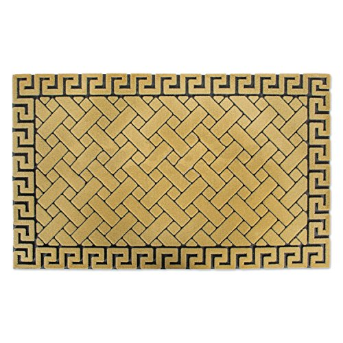 - Non-Slip Outdoor/Indoor Flocked Doormat, 18x30