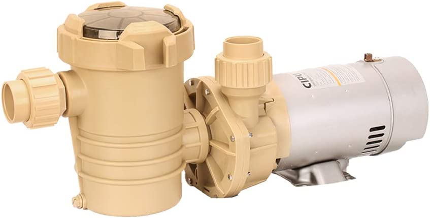 CIPU Pool Pump Efficient 1.5HP Dual Speed for Swimming Pool Water Clean High Performance Sand Filter Pump 6-Foot Cord 115V Easy Install to Above Ground Pools ETL Certificated, CSPPD705