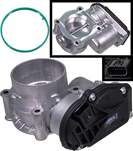 APDTY 088411 Electronic Throttle Body Actuator IAC Idle Air Control Valve Assembly Fits Select Ford Escape C-Max Fusion Lincoln MKZ Mercury Mariner Milan (Replaces DS7Z9E926D, DS7Z9E926A, 9L8Z9E926A)
