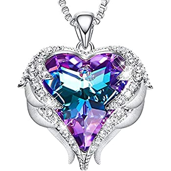 Amazon.com: NEWNOVE Heart of Ocean Pendant Necklaces for