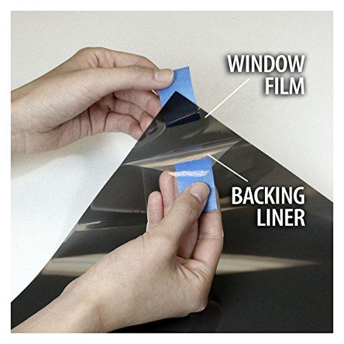 BDF NA35 Window Film Sun Control and Heat Rejection N35, Black (Medium) - 36in X 24ft by Buydecorativefilm (Image #5)