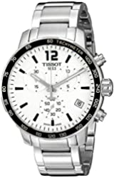 Tissot Men's T0954171103700 Quickster Analog Display Swiss Quartz Silver Watch