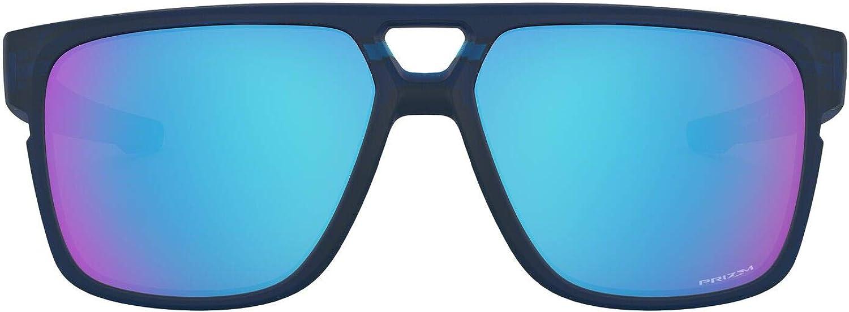 Oakley mens Oo9391 Crossrange Patch Asian Fit Rectangular Sunglasses Rectangular Sunglasses