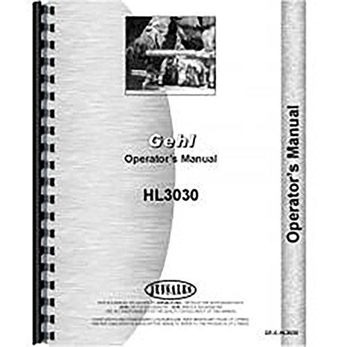GEHL HL3030 Skid Steer Parts Manual