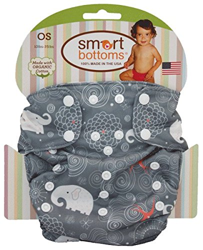 Smart Bottoms Smart ONE 3.1 Organic All-in-one Cloth Diaper (Eloise) - Eloise Cloths