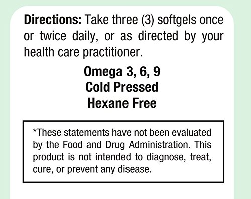 Maxi Health Premium EPO - Evening Primrose with Flax Seed Oil - with Omega-3-180 Softgels - Kosher by Maxi Health (Image #3)