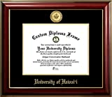 University of Hawaii 22K Gold Medallion Diploma Frame (8 X 10)