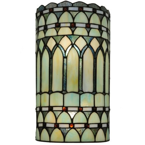 Meyda Tiffany  Aello Wall Sconce, - glass wall decorations