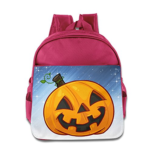 Boomy Fashion Halloween Pumpkin Lunch Bag For 3-6 Years Old Childrens Pink Size One Size (Halloween Costumes For 3 Year Olds)