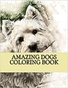 Amazon Amazing Dogs Coloring Book Creative Haven