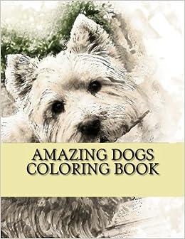 Amazon Amazing Dogs Coloring Book Creative Haven Creative Dogs Coloring Book
