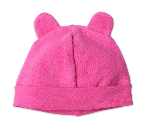 (Zutano Infant Unisex-Baby Fleece Hat,Fuchsia,6m (0-6 months))