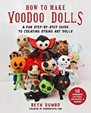 How to Make Voodoo Dolls: A Fun Step-by-Step Guide to Creating String Art Dolls (English Edition)