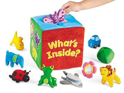 - Lakeshore What's Inside Soft Feely Box