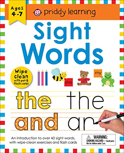 Wipe Clean Workbook: Sight Words (enclosed spiral binding) (Wipe Clean Learning Books)
