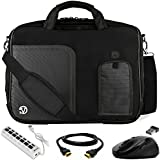 "VanGoddy Laptop Bag w/ USB HUB & Wireless Mouse for MSI Leopard / Prestige / Apache / Phantom / Stealth / Dominatior / Workstation / Raider 14""- 15.6inch"