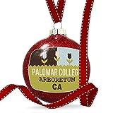 Christmas Decoration US Gardens Palomar College Arboretum - CA Ornament