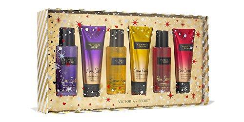 Victoria's Secret 6 piece Mist & Lotion Gift Set, Love Spell, Coconut Passion, Pure Seduction