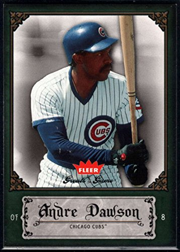 Baseball MLB 2006 Fleer Greats of the Game #3 Andre Dawson Cubs