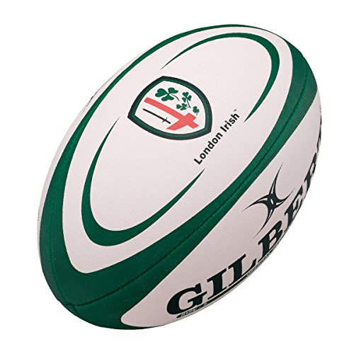 - Gilbert London Irish Replica Rugby Ball