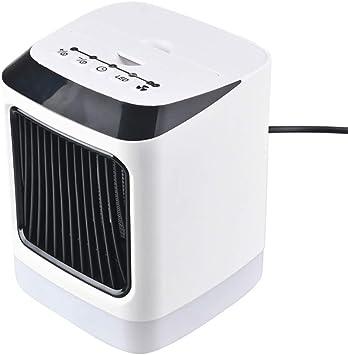 Bascar - Mini Ventilador de Aire Acondicionado portátil con luz ...