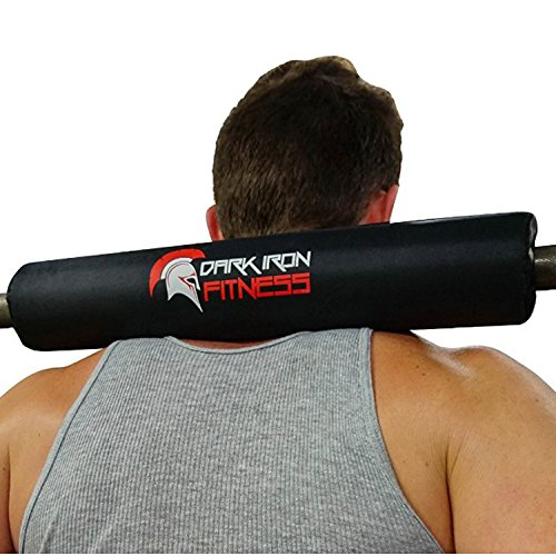Dark Iron Fitness Barbell Pads Weight Neck roll Bear Pads Squat Padding glute Barbell Squat pad Foam Barbell pad Squat bar Bear Barbell Bear Olympic Barbell Squat pad Foam Squat pad Squat bar pad