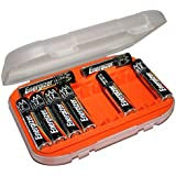 12 AAA Travel Battery Case Holder PC Card P-UF0603-FT FAST USA SHIP