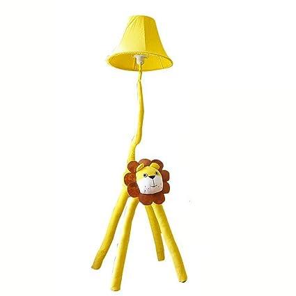 Xiao Fan ▷ Lámpara Amarilla de Dibujos Animados, león ...