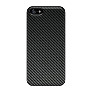 Top Quality Protection Carbon Fiber Case Cover For Iphone 5/5s