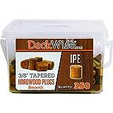 DeckWise Hardwood Plugs - 3/8 Standard IPE - by DeckWise