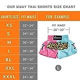 NAMAZU Muay Thai Shorts for Men and Women, High