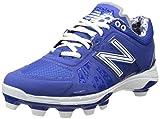 New Balance Men's L2000V2 TPU Low Baseball Shoe,Royal,13 D US