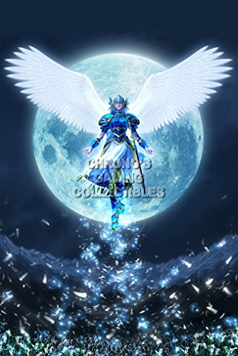 Lenneth Valkyrie Profile Psp - Valkyrie Profile CGC Huge Poster Glossy Finish PS1 PSP - VAL004 (24