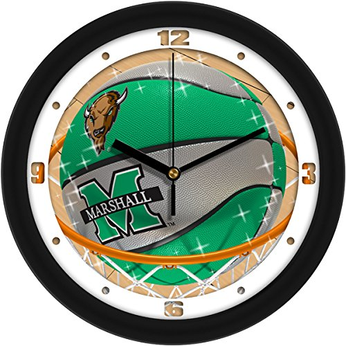 - SunTime NCAA Marshall University Thundering Herd Slam Dunk Wall Clock